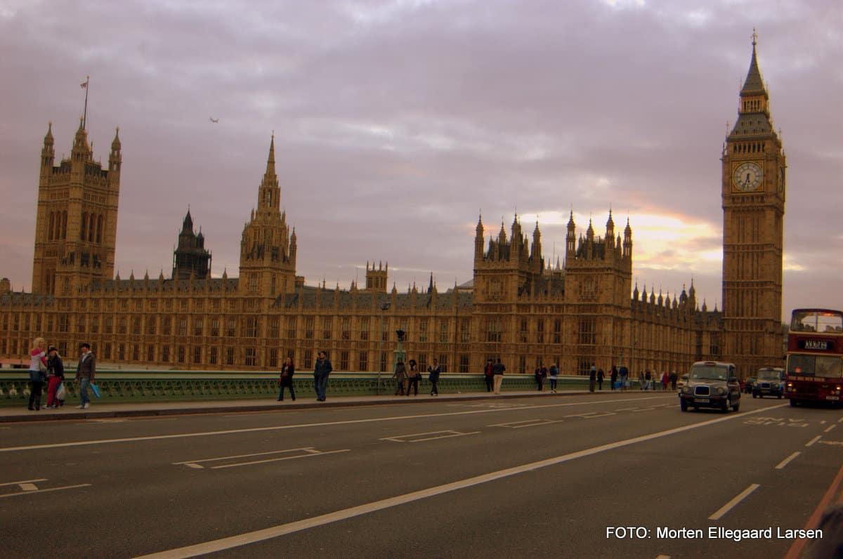 Palace of Westminster og Big Ben
