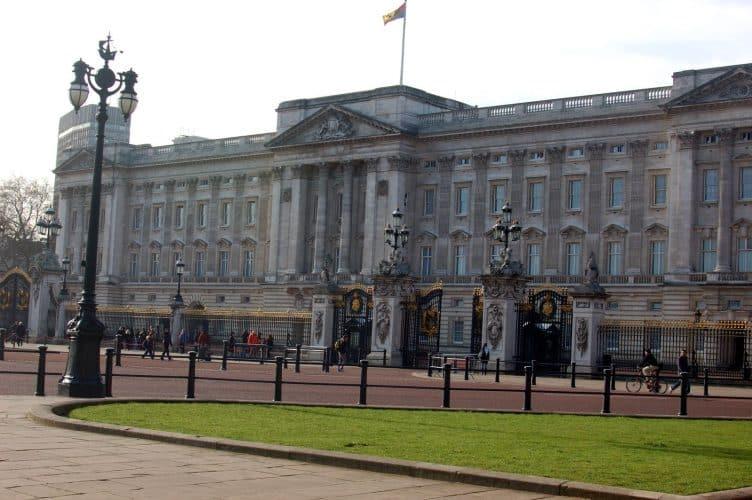 Buckingham Palace i London